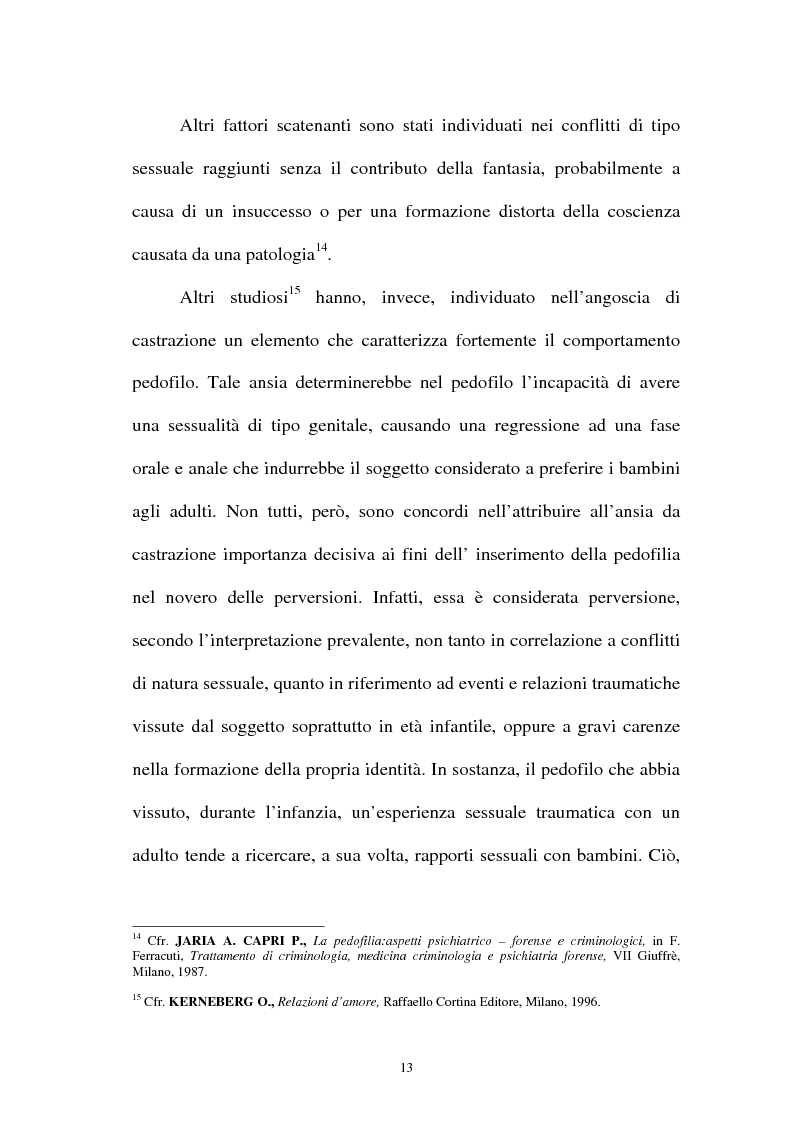 Anteprima della tesi: La pornografia minorile su Internet e le tecniche per contrastarla, Pagina 13
