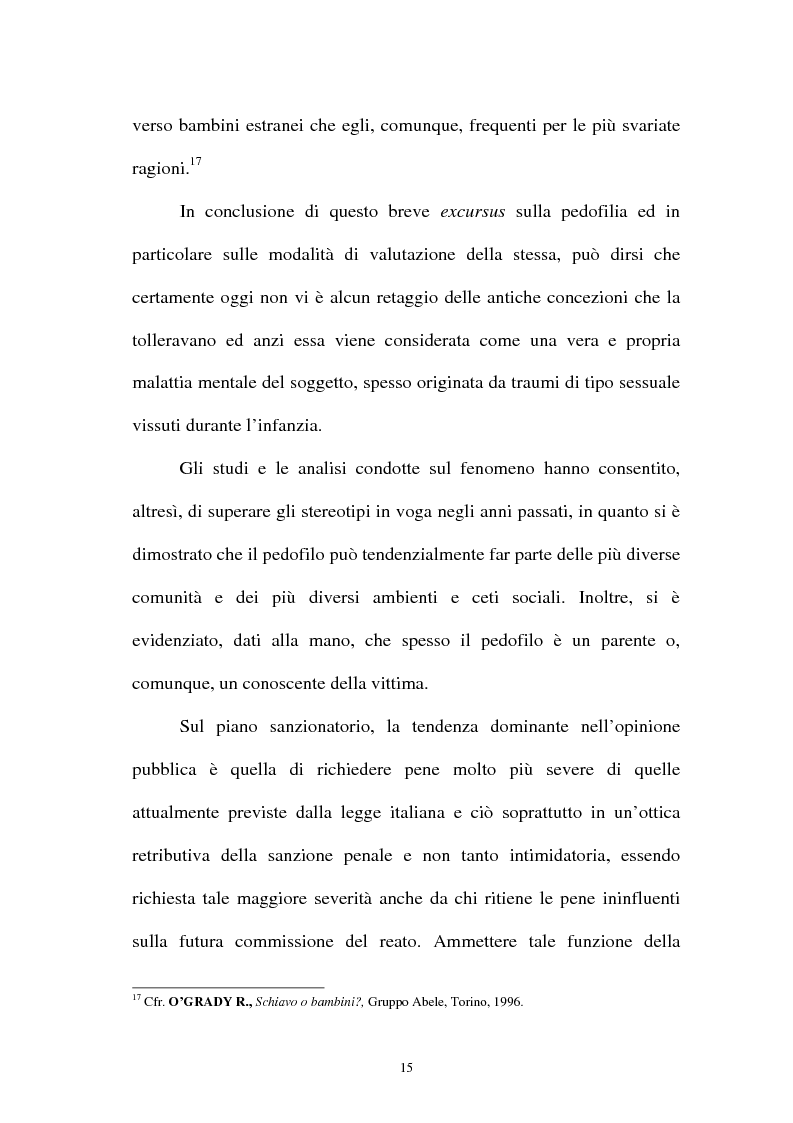 Anteprima della tesi: La pornografia minorile su Internet e le tecniche per contrastarla, Pagina 15
