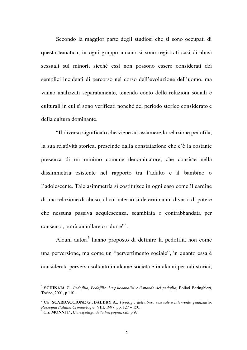 Anteprima della tesi: La pornografia minorile su Internet e le tecniche per contrastarla, Pagina 2