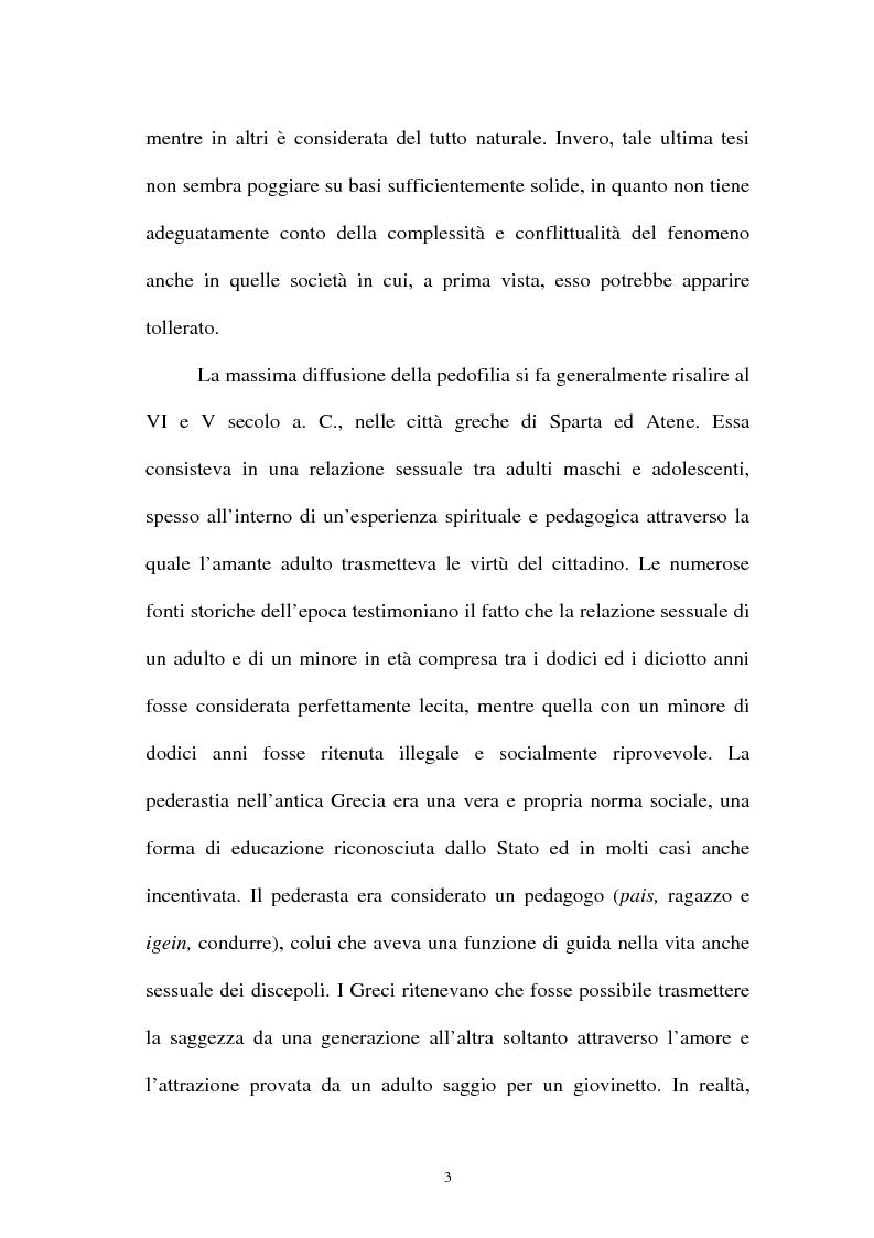 Anteprima della tesi: La pornografia minorile su Internet e le tecniche per contrastarla, Pagina 3