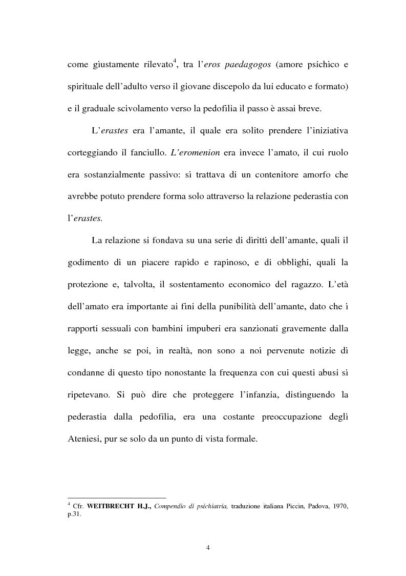 Anteprima della tesi: La pornografia minorile su Internet e le tecniche per contrastarla, Pagina 4
