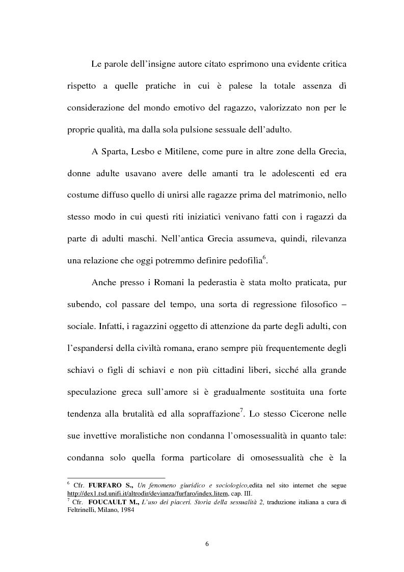Anteprima della tesi: La pornografia minorile su Internet e le tecniche per contrastarla, Pagina 6
