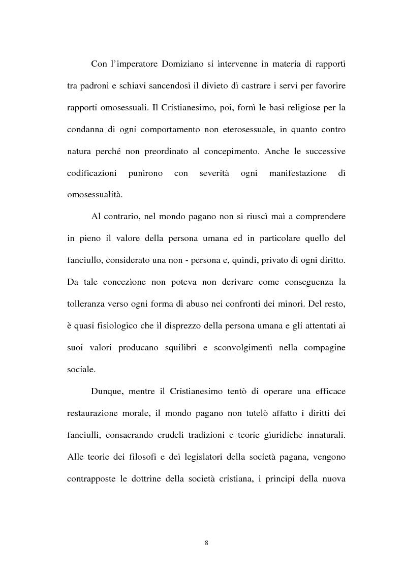 Anteprima della tesi: La pornografia minorile su Internet e le tecniche per contrastarla, Pagina 8