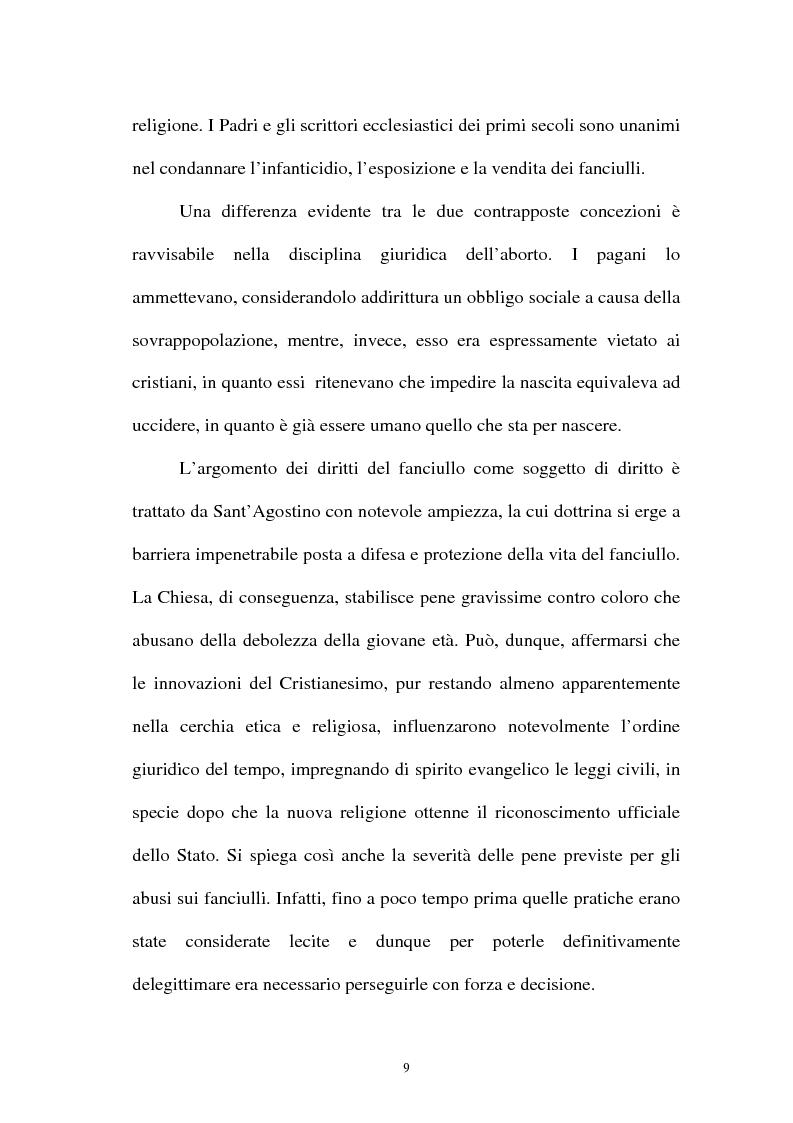 Anteprima della tesi: La pornografia minorile su Internet e le tecniche per contrastarla, Pagina 9