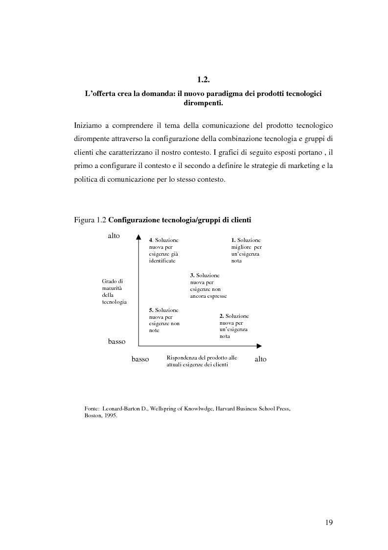 Anteprima della tesi: Le politiche di comunicazione dei prodotti tecnologici dirompenti nel mercato globale. Il caso Jepssen, Pagina 13