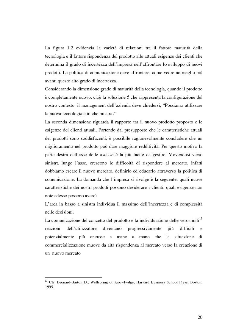 Anteprima della tesi: Le politiche di comunicazione dei prodotti tecnologici dirompenti nel mercato globale. Il caso Jepssen, Pagina 14
