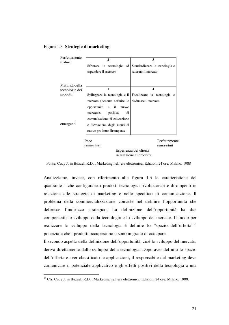 Anteprima della tesi: Le politiche di comunicazione dei prodotti tecnologici dirompenti nel mercato globale. Il caso Jepssen, Pagina 15