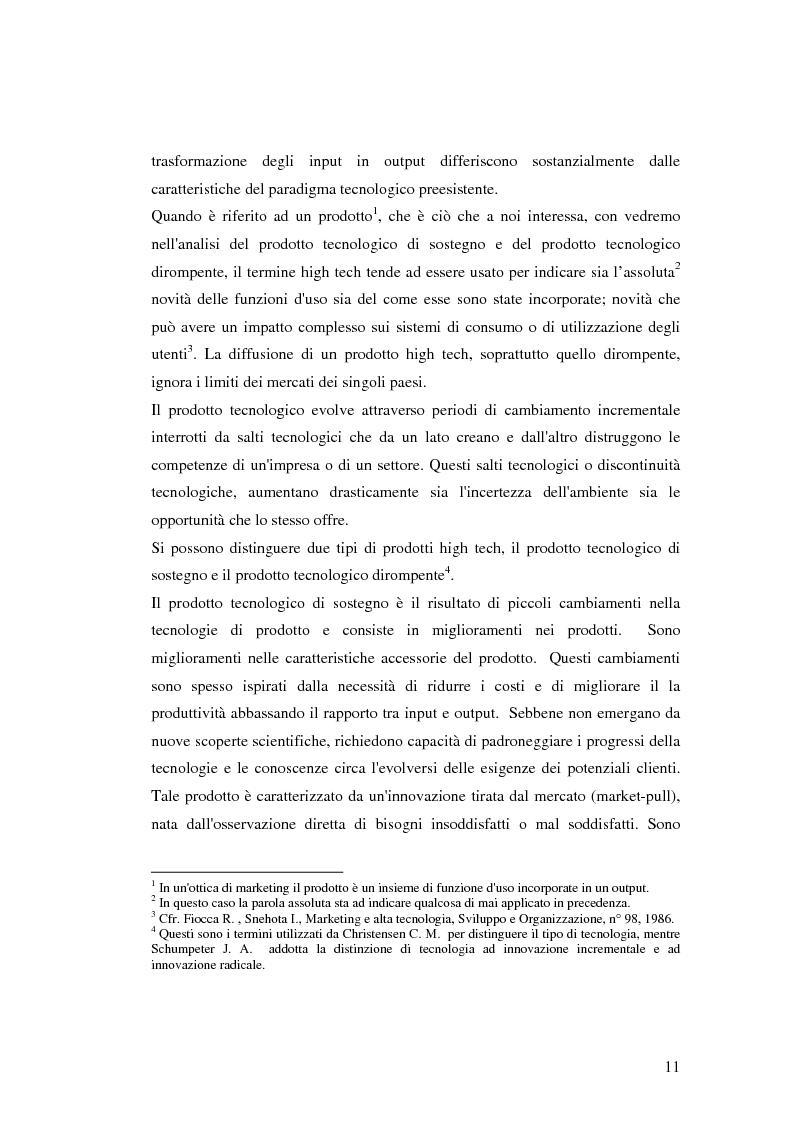 Anteprima della tesi: Le politiche di comunicazione dei prodotti tecnologici dirompenti nel mercato globale. Il caso Jepssen, Pagina 5