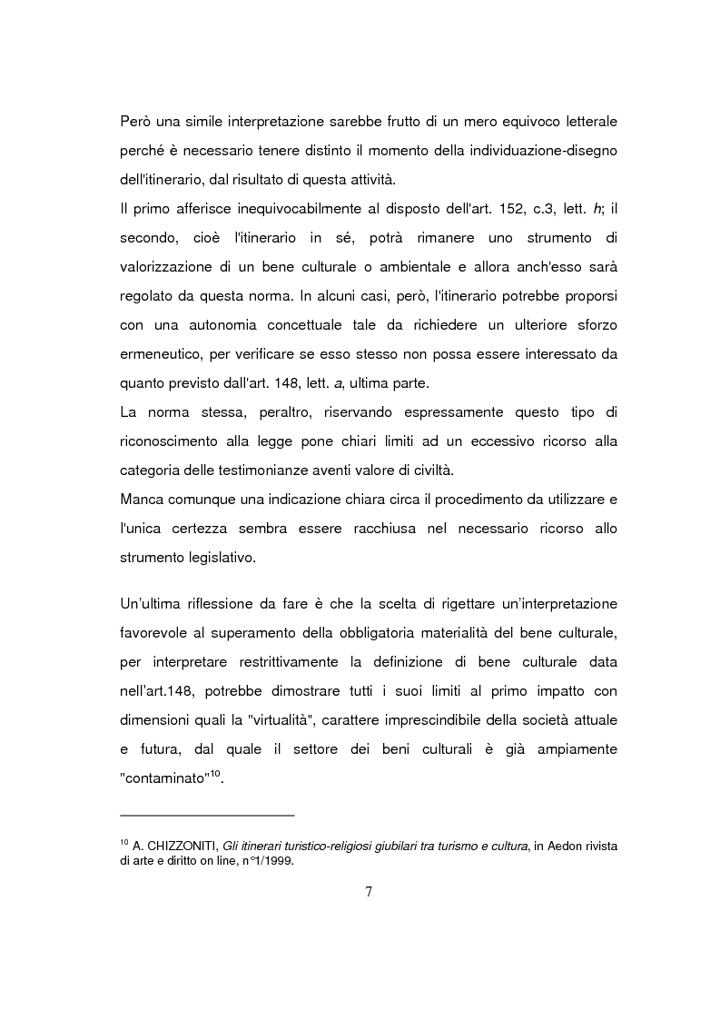 Anteprima della tesi: Beni culturali di interesse religioso, Pagina 10