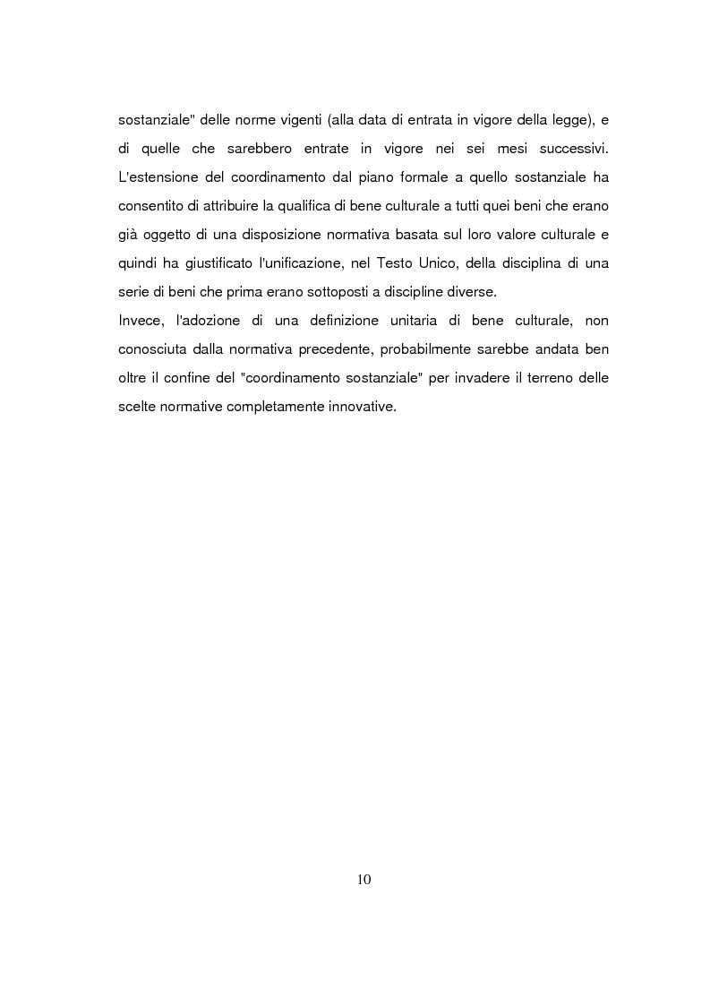 Anteprima della tesi: Beni culturali di interesse religioso, Pagina 13