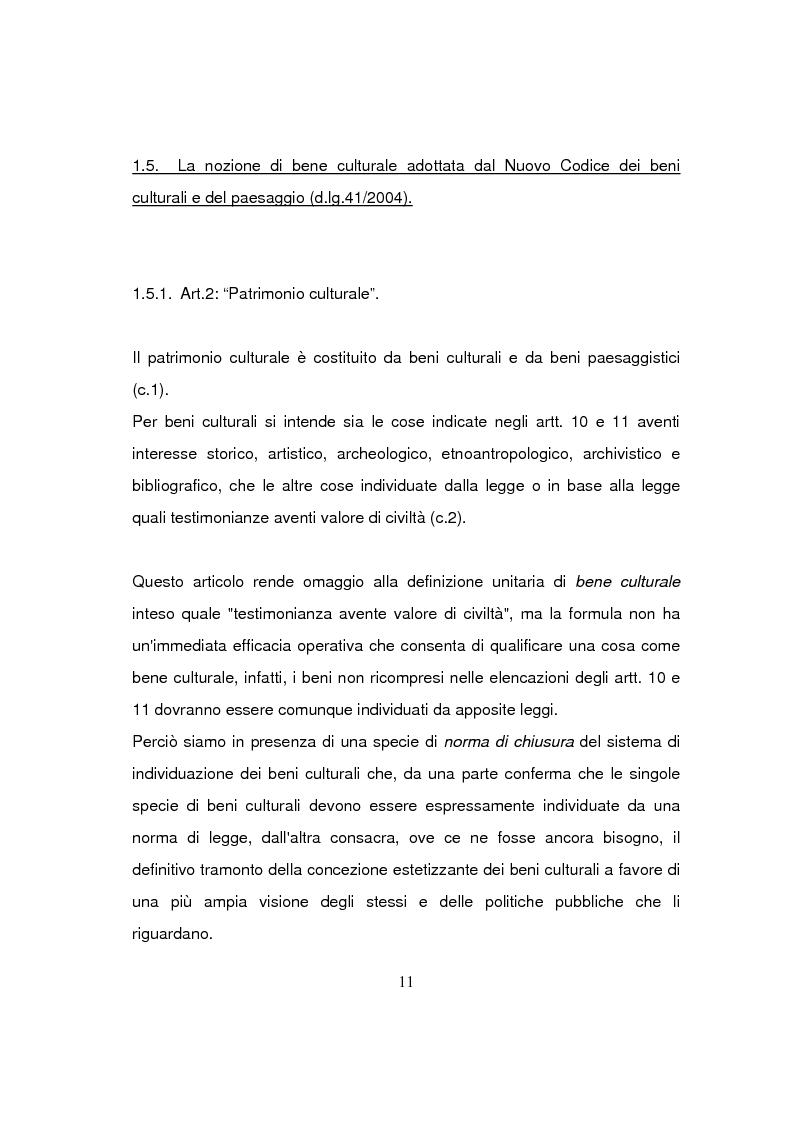 Anteprima della tesi: Beni culturali di interesse religioso, Pagina 14