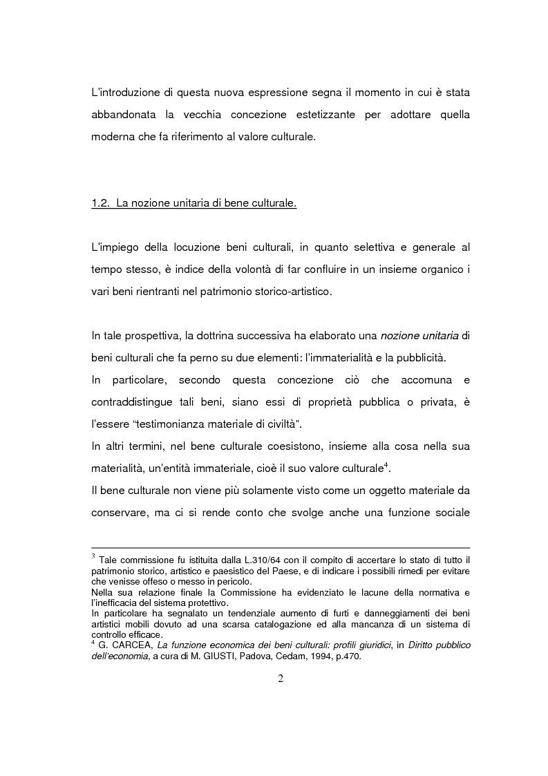 Anteprima della tesi: Beni culturali di interesse religioso, Pagina 5