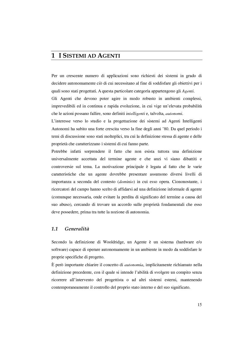 Anteprima della tesi: Realizzazione di un algoritmo di pianificazione basato su euristiche che operano su modelli rilassati, Pagina 4