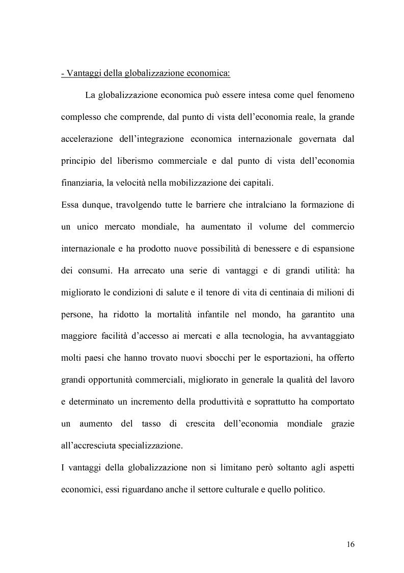 Anteprima della tesi: Globalizzazione e salvaguardia dell'ambiente, Pagina 11