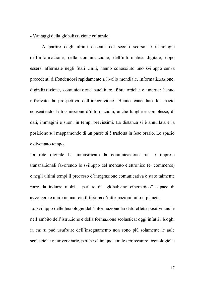 Anteprima della tesi: Globalizzazione e salvaguardia dell'ambiente, Pagina 12