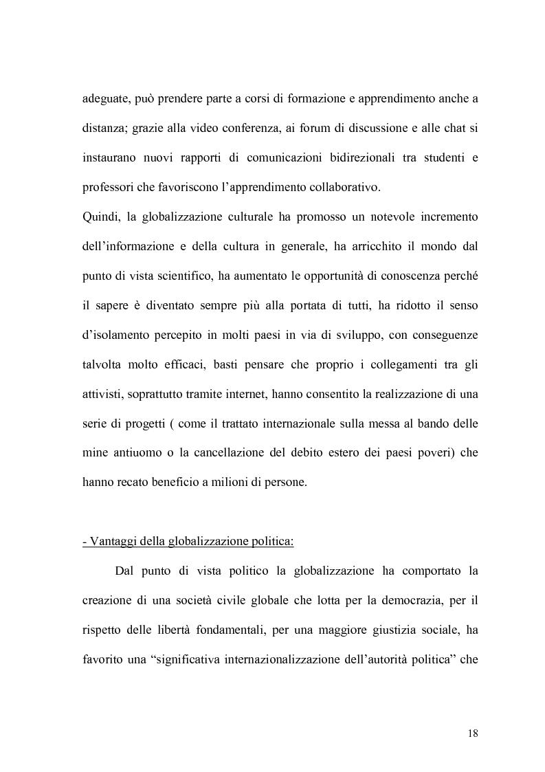 Anteprima della tesi: Globalizzazione e salvaguardia dell'ambiente, Pagina 13