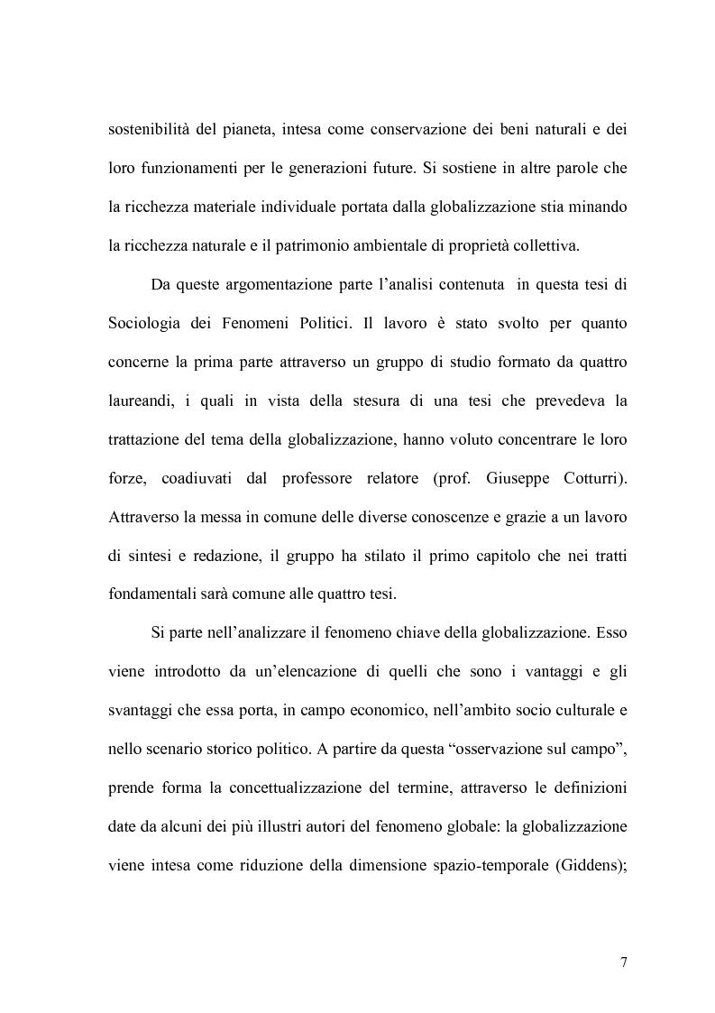 Anteprima della tesi: Globalizzazione e salvaguardia dell'ambiente, Pagina 2