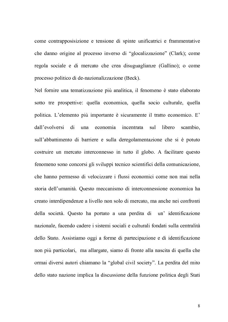 Anteprima della tesi: Globalizzazione e salvaguardia dell'ambiente, Pagina 3