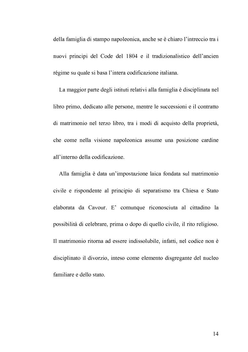 Anteprima della tesi: La famiglia legittima e la famiglia di fatto tra paralisi statale e iperattivismo regionale, Pagina 10
