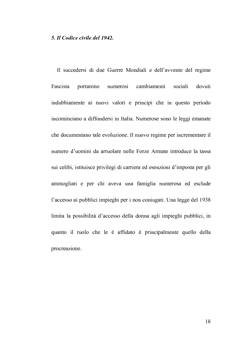Anteprima della tesi: La famiglia legittima e la famiglia di fatto tra paralisi statale e iperattivismo regionale, Pagina 14