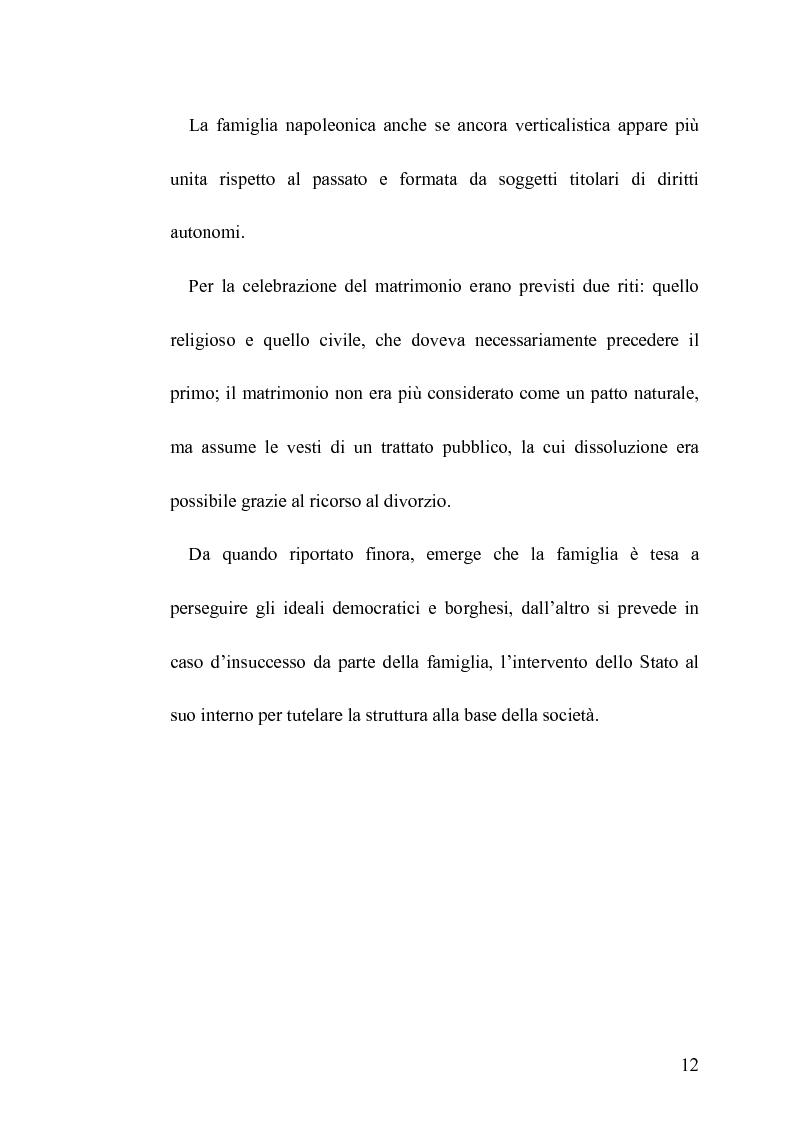 Anteprima della tesi: La famiglia legittima e la famiglia di fatto tra paralisi statale e iperattivismo regionale, Pagina 8