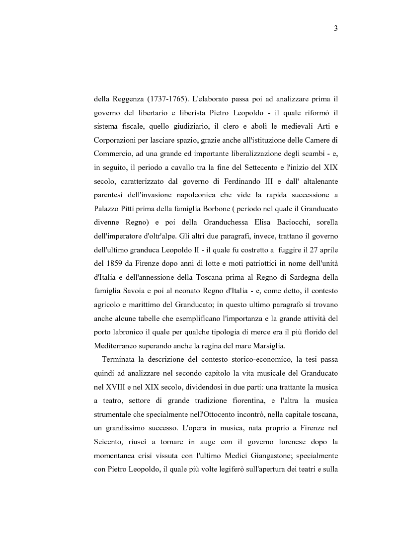 Anteprima della tesi: Musica e liuteria nella Toscana dei Lorena, Pagina 2