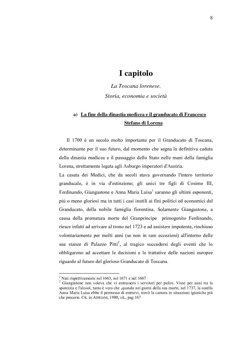 Anteprima della tesi: Musica e liuteria nella Toscana dei Lorena, Pagina 7