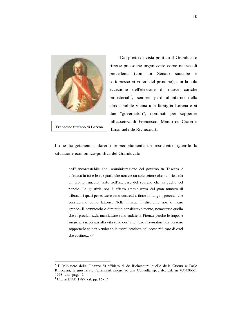 Anteprima della tesi: Musica e liuteria nella Toscana dei Lorena, Pagina 9