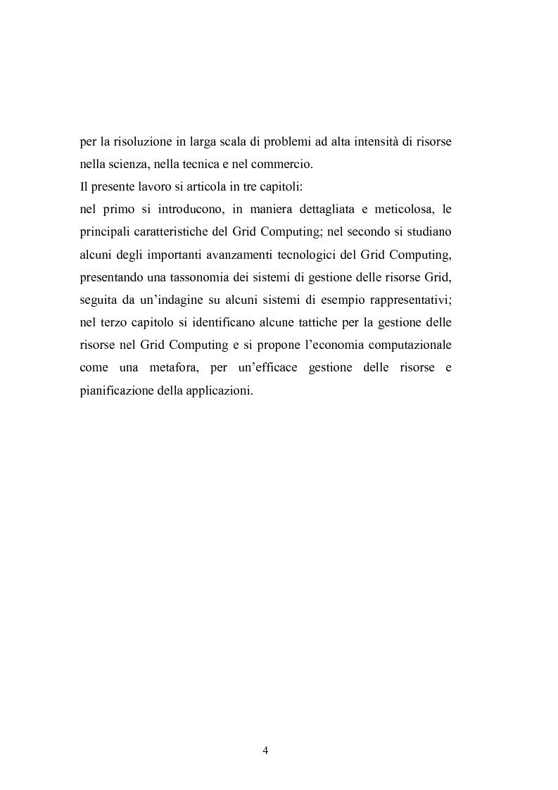 Anteprima della tesi: Grid Computing per economie computazionali distribuite, Pagina 2