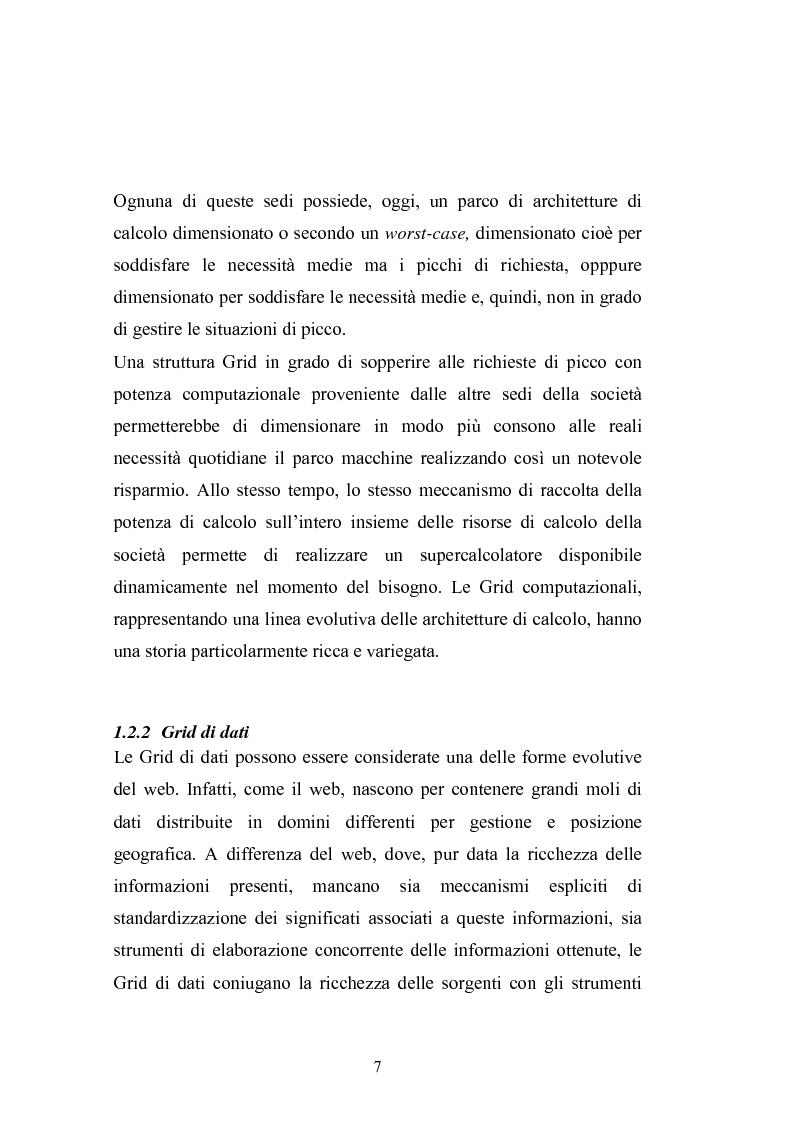 Anteprima della tesi: Grid Computing per economie computazionali distribuite, Pagina 5