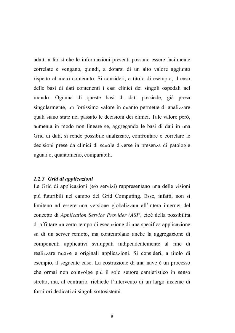 Anteprima della tesi: Grid Computing per economie computazionali distribuite, Pagina 6
