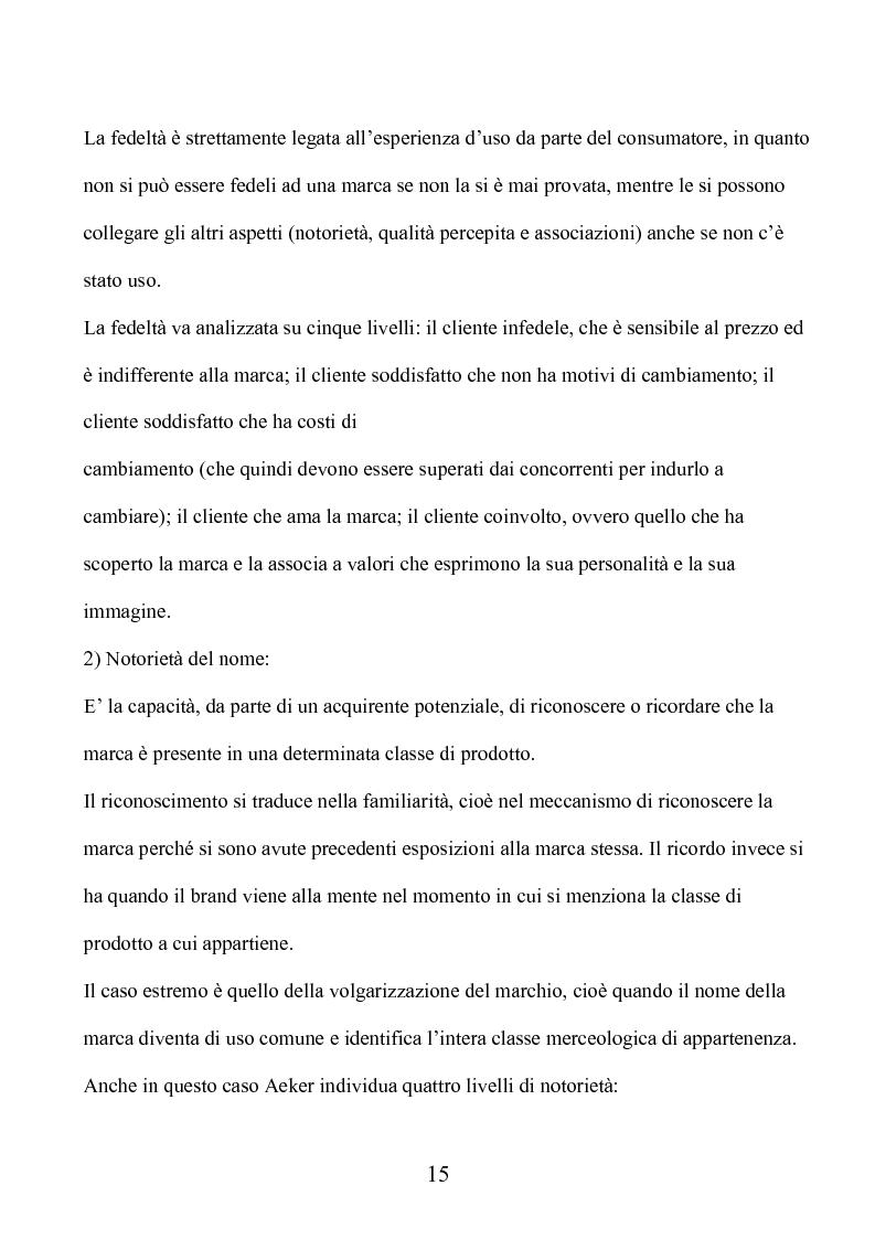 Anteprima della tesi: Marca e packaging per il successo aziendale: Il caso Aquolina, nuovi universi sensoriali per la cosmesi., Pagina 10