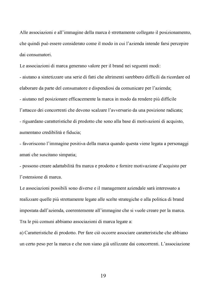 Anteprima della tesi: Marca e packaging per il successo aziendale: Il caso Aquolina, nuovi universi sensoriali per la cosmesi., Pagina 14