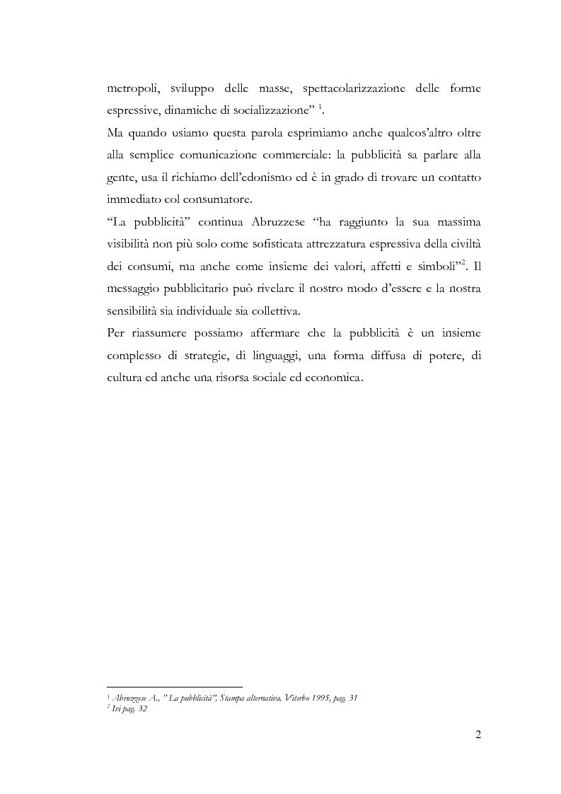 Anteprima della tesi: La pubblicità e le avanguardie, Pagina 2