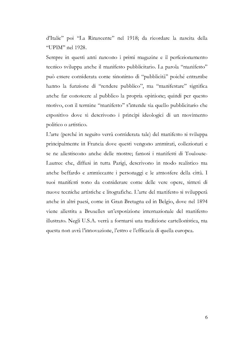Anteprima della tesi: La pubblicità e le avanguardie, Pagina 6