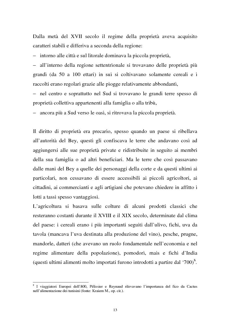 Anteprima della tesi: Gli investimenti stranieri nel Nord Africa in orospettiva storica: il caso della Tunisia, Pagina 13