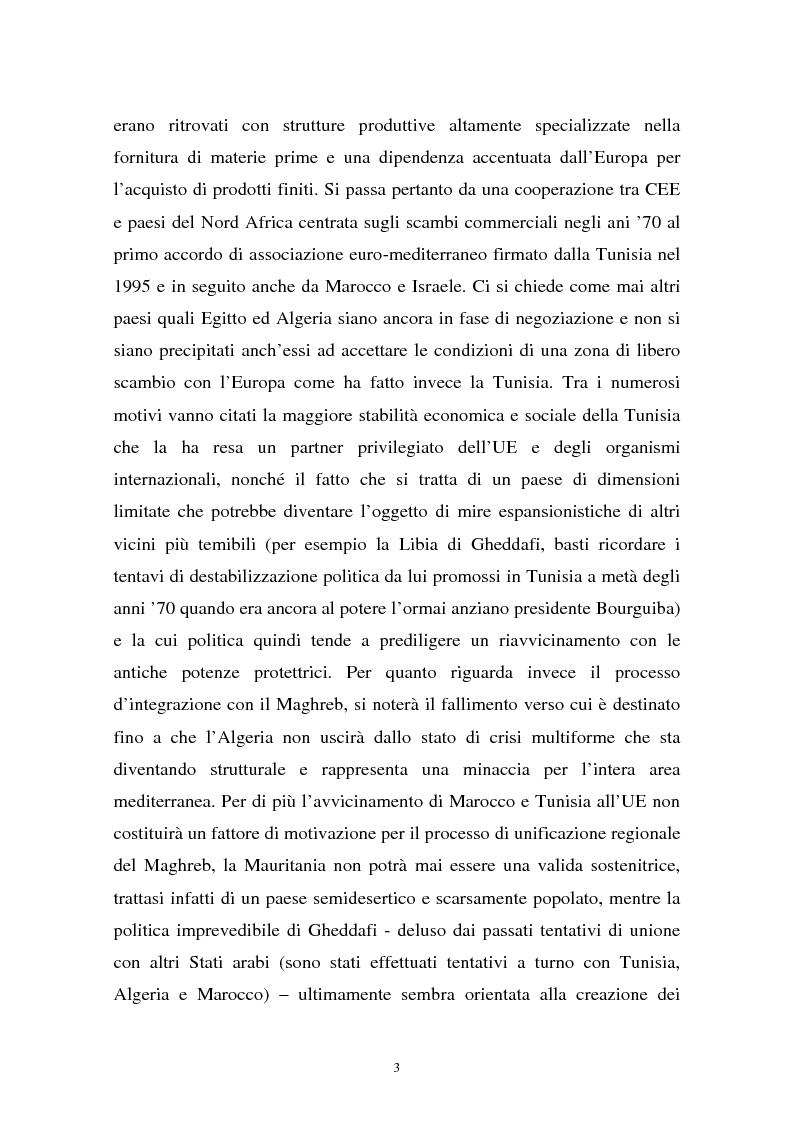 Anteprima della tesi: Gli investimenti stranieri nel Nord Africa in orospettiva storica: il caso della Tunisia, Pagina 3