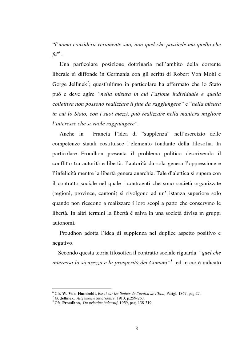 Anteprima della tesi: Il principio di sussidiarietà nel diritto comunitario, Pagina 8
