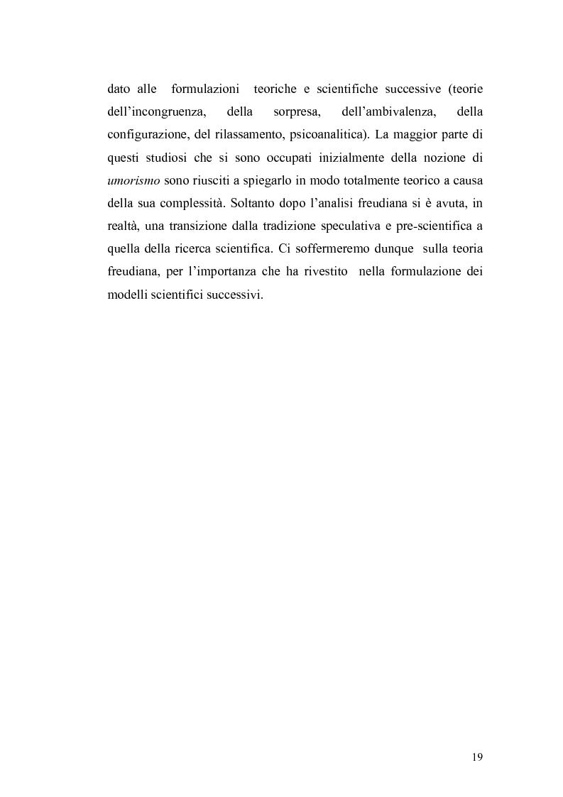 Anteprima della tesi: Ridere per far bene a se stessi o per far ridere gli altri? L'umorismo nella clownterapia, Pagina 15