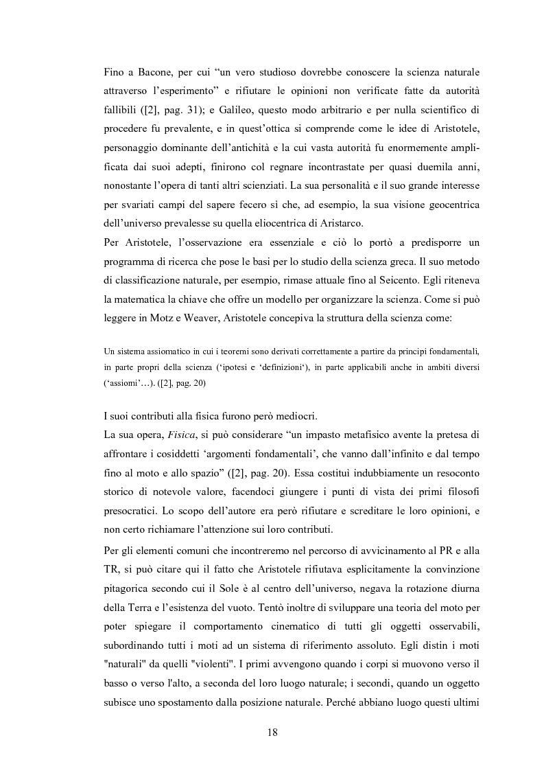 Anteprima della tesi: Il Principio di Relatività, Pagina 13