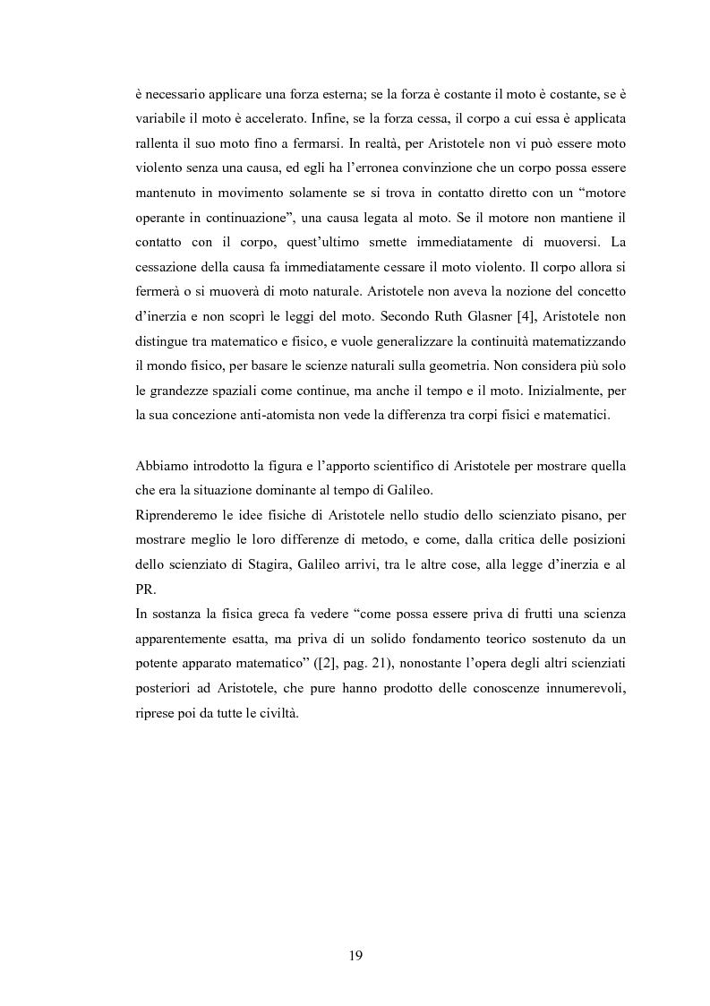 Anteprima della tesi: Il Principio di Relatività, Pagina 14