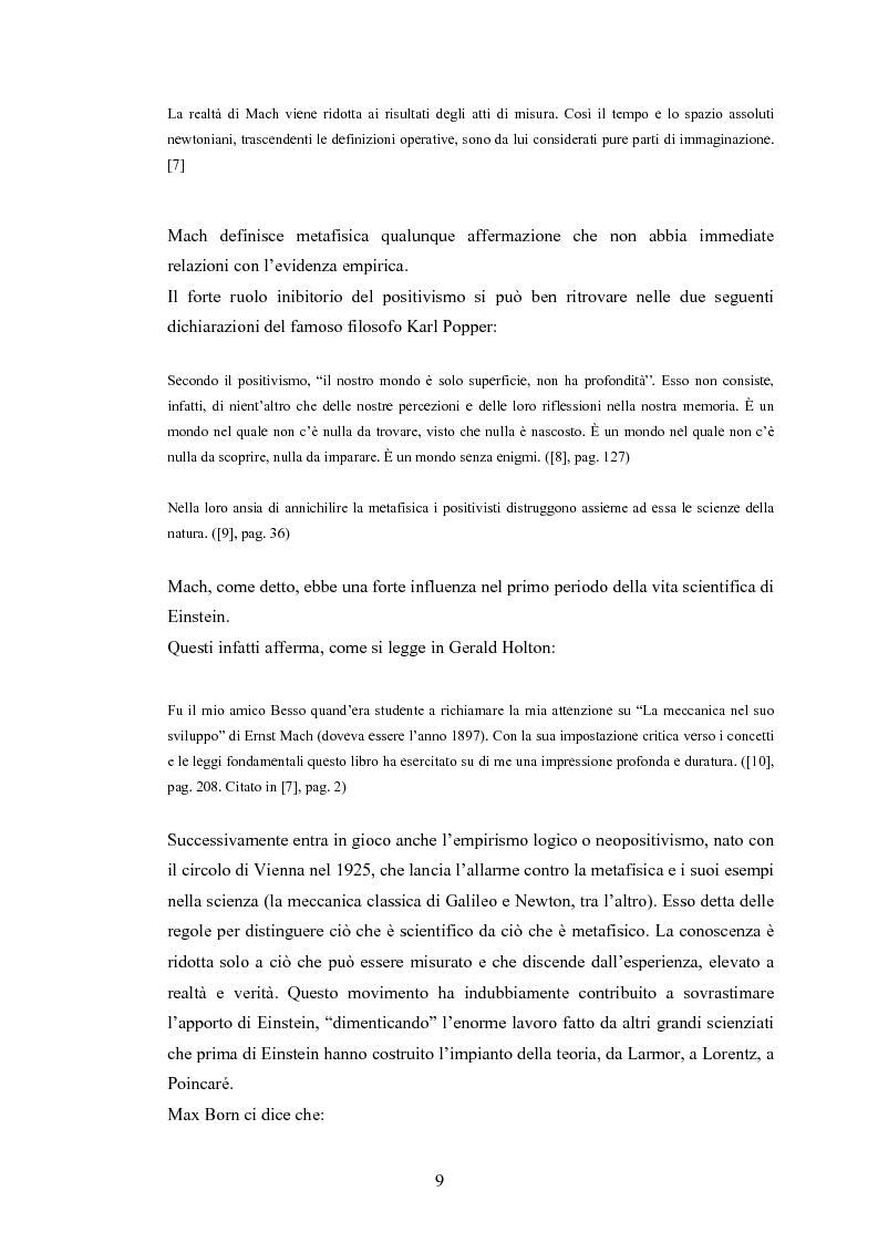 Anteprima della tesi: Il Principio di Relatività, Pagina 4