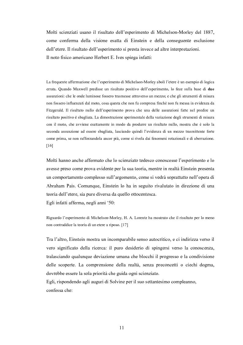 Anteprima della tesi: Il Principio di Relatività, Pagina 6