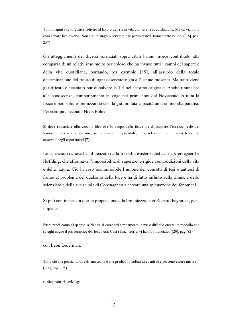 Anteprima della tesi: Il Principio di Relatività, Pagina 7
