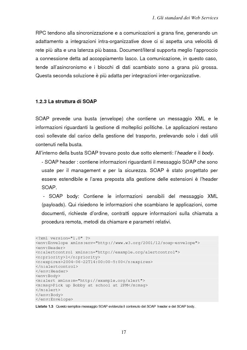 Anteprima della tesi: Sicurezza e Web Services, Pagina 10