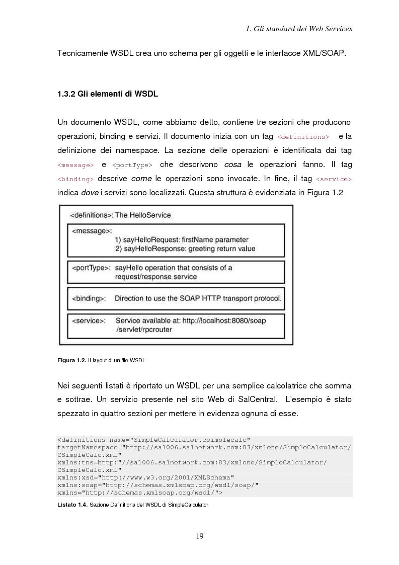Anteprima della tesi: Sicurezza e Web Services, Pagina 12