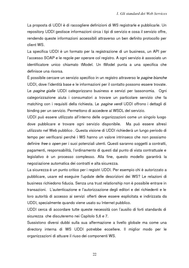 Anteprima della tesi: Sicurezza e Web Services, Pagina 15