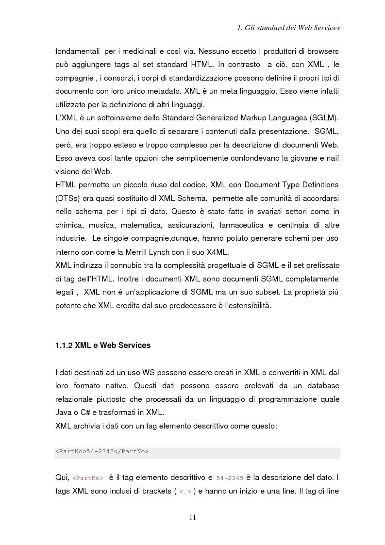 Anteprima della tesi: Sicurezza e Web Services, Pagina 4