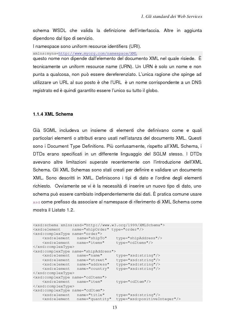 Anteprima della tesi: Sicurezza e Web Services, Pagina 6