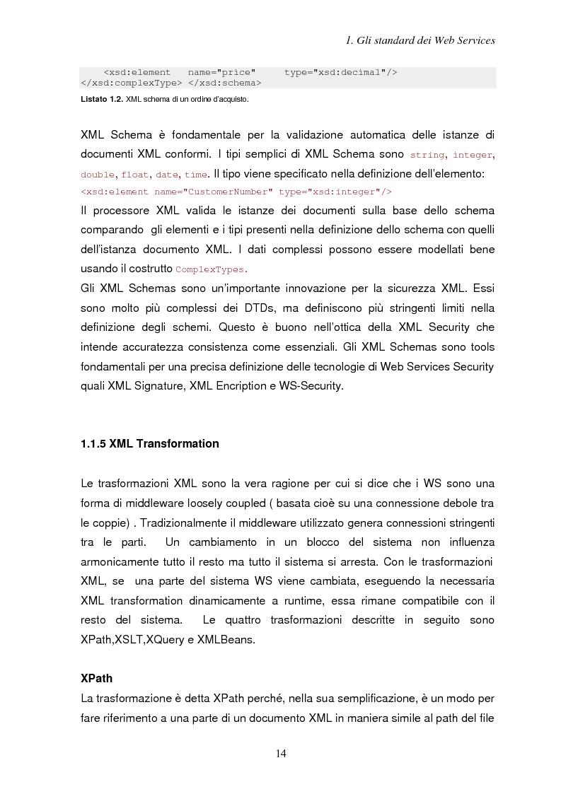 Anteprima della tesi: Sicurezza e Web Services, Pagina 7
